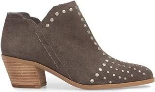 Womens Loka Leather Pointed Toe Ankle, Charcoal/Portogallo, Size 9.5