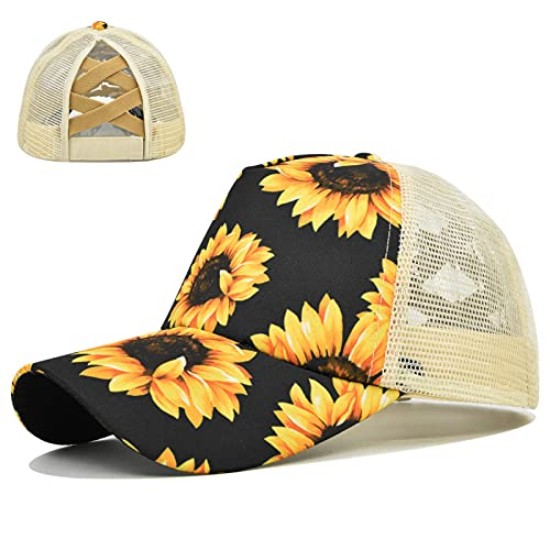 ErLaLa Sombrero para el Sol de béisbol Todo fósforoSombrero con protección UV UPF 30 Protector Solar de Verano para Viajes al Aire Libre