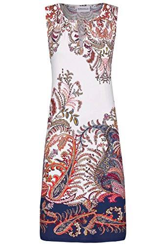 Ringella Beach Damen *Kleid mit Paisleydruck Marine 46 0221035, Marine, 46