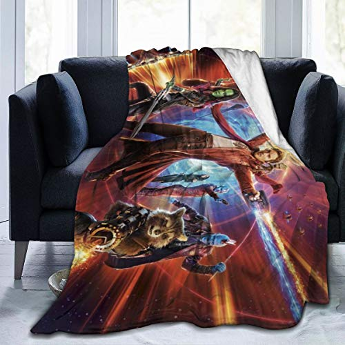 Guardians of The Galaxy Blanket with Soft Anti-Pilling Flannel
