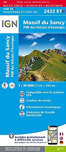 Massif du Sancy / Auvergne 2016: IGN.P.2432ETR