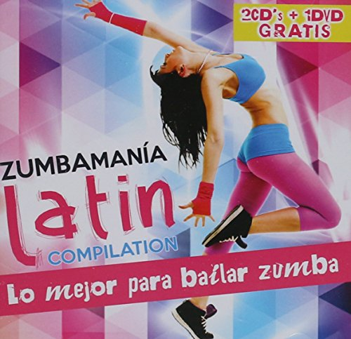 Zumbamania Latin Compilation (2CDs+DVD Lo Mejor Para Bailar Zumba Sony 889853041022)