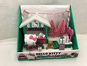 Sanrio USA Hello Kitty Animated Candy Shop - Christmas Holiday Plays Music Light Up!