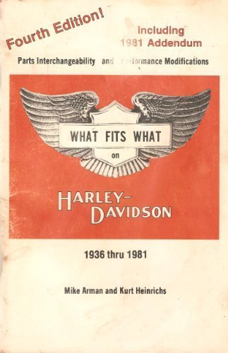 What fits what on Harley-Davidson, 1936 thru 1983: Parts interchangeability and performance modifications