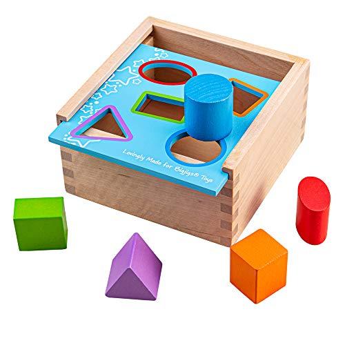 Bigjigs Toys Ma première boîte à Formes