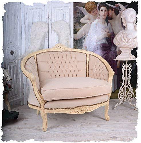 FRANZÖSISCHES Salon Sofa Vintage KANAPEE Boudoir Shabby CHIC Sessel Palazzo Exclusiv