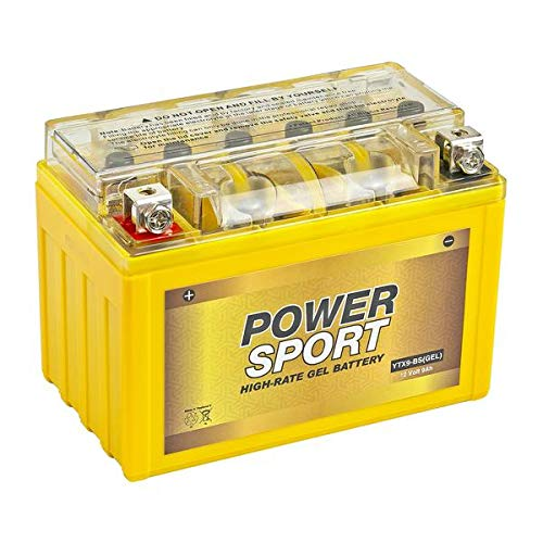 ExpertPower YTX9-BS(GEL) 180 CCA Motorcycle Battery Replacement for CTX9, PTR9-BS, YTR9-BS, YTX9, GTX9-12B, ES-TX9