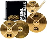 Meinl HCS1314+10S+TX5AW Set Piatti Hi-Hat e Crash con Splash 10'