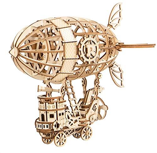 Rolife Puzzle 3D Maquetas Madera Kits para Adolescentes y Adultos (Airship)