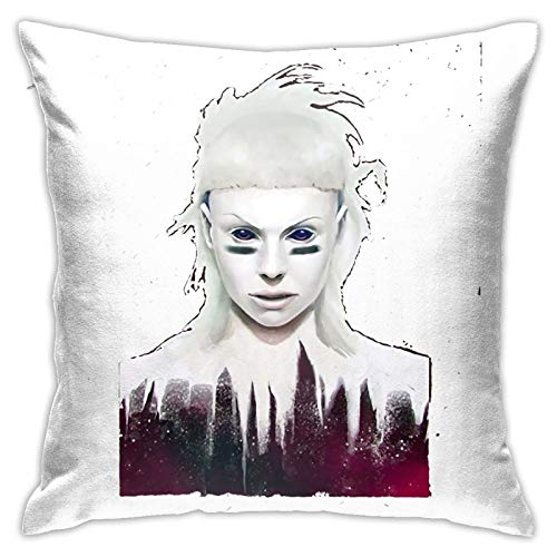 OXOFDTZCV Die Antwoord Funny Pillowcase Home Sofa Bed Decorated with Soft and Comfortable Washing Pillowcase (1818in)