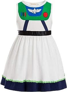Toy Story Juniors Costume Tunic Tank Dress Buzz Lightyear Costume Fancy Dress Toy Story Jessie Costume Buzz Lightyear Dress