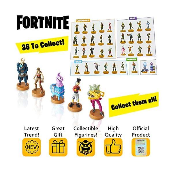 Fortnite figuras de acción | Juego de 5 figuras de Fortnite juguete coleccionables | Juguetes para adultos y niños… 2