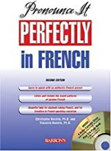 Pronounce It Perfectly in French with Audio CDs (Pronounce It Perfectly CD Packages) by Christopher Kendris Ph.D. (2005-07-01)