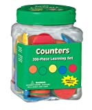 Eureka Educational Learn to Count Tub of Counters for Classrooms, 200 pcs