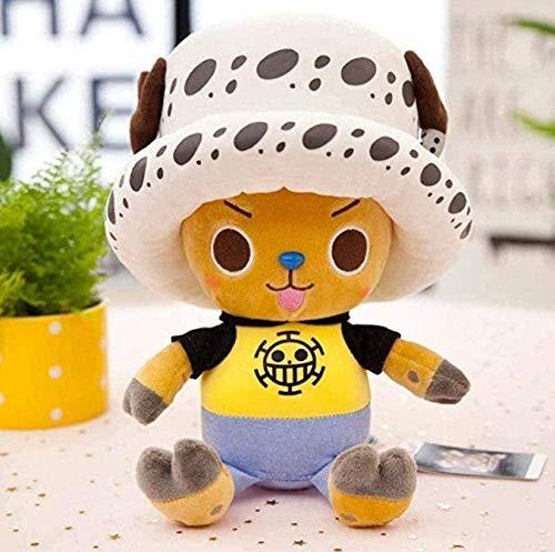 JJWYD Plush Ragdoll Big Chopper Doll Luffy Doll Child s Gift White Cap Chopard 45Cm Toy