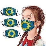 3PC Das Erntedankfest Premium Design Mundschutz Maske Wiederverwendbar, Hochwertiges Gesichtsmaske Waschbar, Staubschutzmaske für Damen