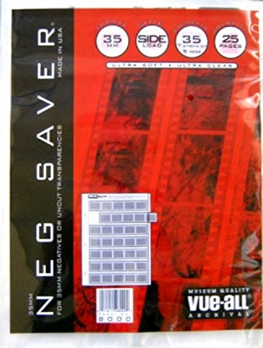 Vue All V8000 Vue-All 35M Negative Saver Side Load Pack of 25