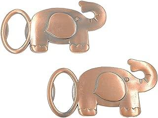 12pcs Elephant Bottle Opener for Wedding Party Favor Souvenir Gift(Copper Tone)