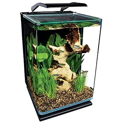 MarineLand Portrait Glass LED Aquarium Kit