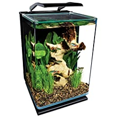 Focused on the healthy living of your aquatic pets Quality designed and tested for highest performance Don't Settle for anything less, use Aquaria Products HIDDEN FILTRATION: Advanced, 3-stage filtration is out of sight, enhancing aquarium viewing.
