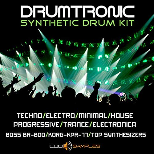 Drumtronic - Synthetische Drum Samples, Drumsounds, Synth Drums DVD non BOX