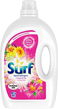 Surf Tropical Lily Washing Liquid 85 Wash, 3 Litre
