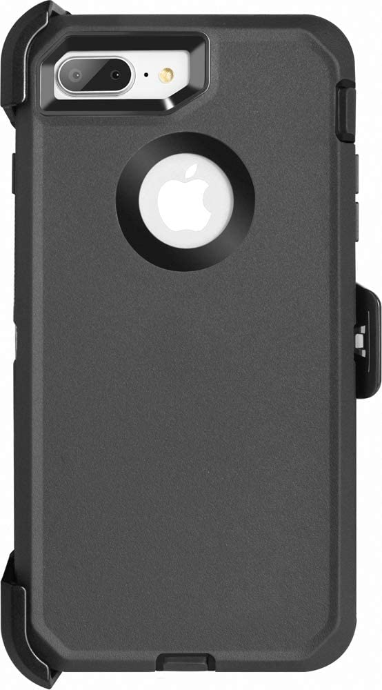 Krichit Commuter Series for iPhone se 2020 Case (2nd gen,Does not Show Logo) and iPhone 8 Case Commuter Case Heavy Duty Case iPhone 7 Case (Not Plus)