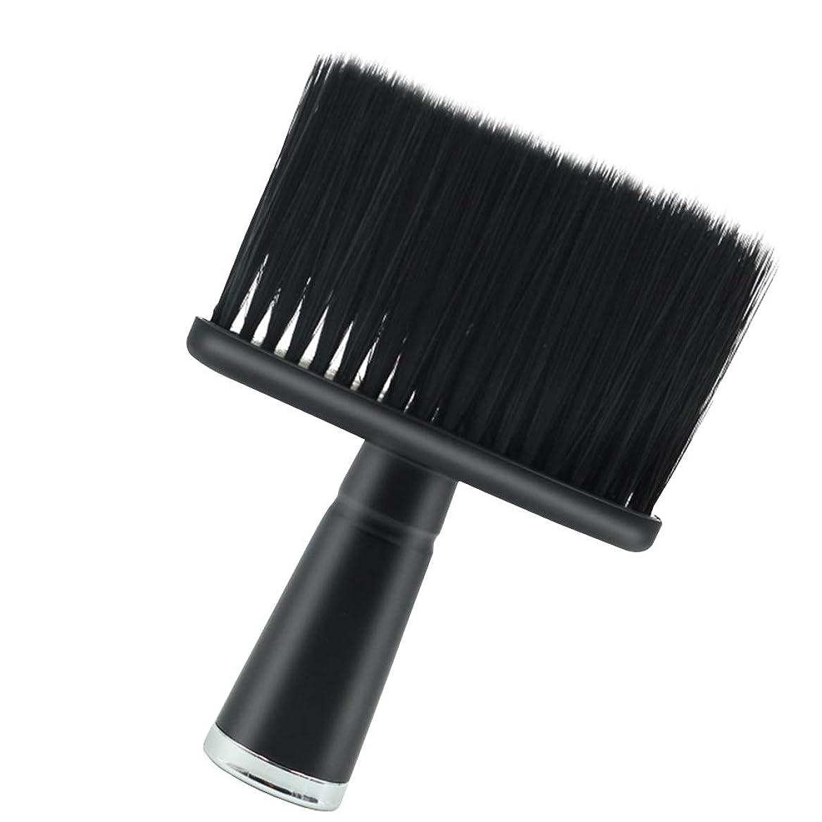 ぐったりタイヤ集中的なLurrose ネックダスター美容院理髪師フェイスダスターブラシヘアカットダスター
