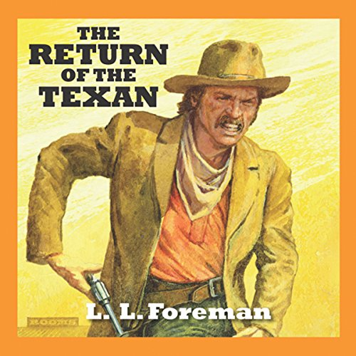 The Return of the Texan audiobook cover art