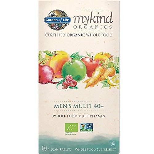 Garden of Life mykind Organics Men's 40+ Multi, 60 Tablets