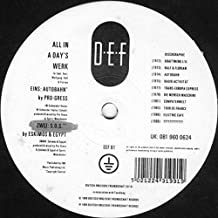 Various - All In A Day's Werk - Deutsch Englische Freundschaft - EEF 91