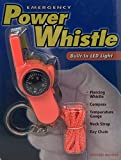 GoudaTech Emergency Power Whistle with Built-in LED Light