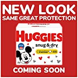 HUGGIES Snug & Dry Diapers, Size 4, 156Count (Packaging May Vary)
