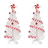 Department 56 Village Collection Accessories Peppermint White Sisals Figurine Set, 6.125 Inch, Multicolor