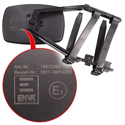 ENVA Universal Caravanspiegel, Zusatzspiegel für Wohnwagen