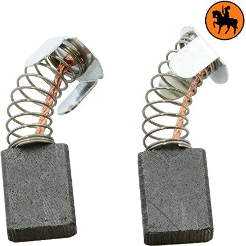 Buildalot Specialty koolborstels ca-07-85715 voor Makita-freesmachine 3612BR - 6,5x13,5x16mm - vervanging voor originele onderdelen 181044-0, 181048-2, CB-153, CB-155, CB-161 & JM23000123