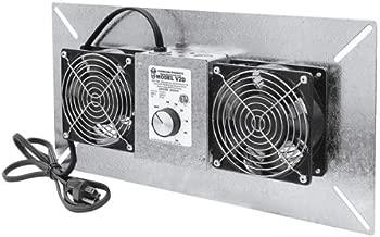 Tjernlund V2D UnderAire Crawlspace Ventilator Fan Moisture Mold Reducing