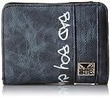 [バッドボーイ] BAD BOY バッドボーイ グラデーション Lファスナー二つ折り札入れ BD-2543 ネイビー
