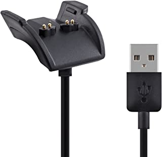 kwmobile Garmin Vivosmart HR/Approach X40 USB Charging Cable - Charger Dock Station Cradle for Garmin Vivosmart HR/Approach X40