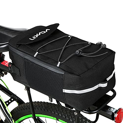 Flytise Bike Trunk Bag - Bolsa isotérmica multifuncional para bicicleta