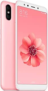 Celular Xiaomi Mi A2 Global 64GB 4G/4GB RAM Dual Sim Tela 5.99 Câm.12.0MP + 20.0MP - Rosa