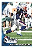 Julian Edelman 2010 Topps NFL Football Mint Rookie Card Picturing This New England Patriots Star in His Blue Jersey 325 Julian Edelman M (Mint). rookie card picture