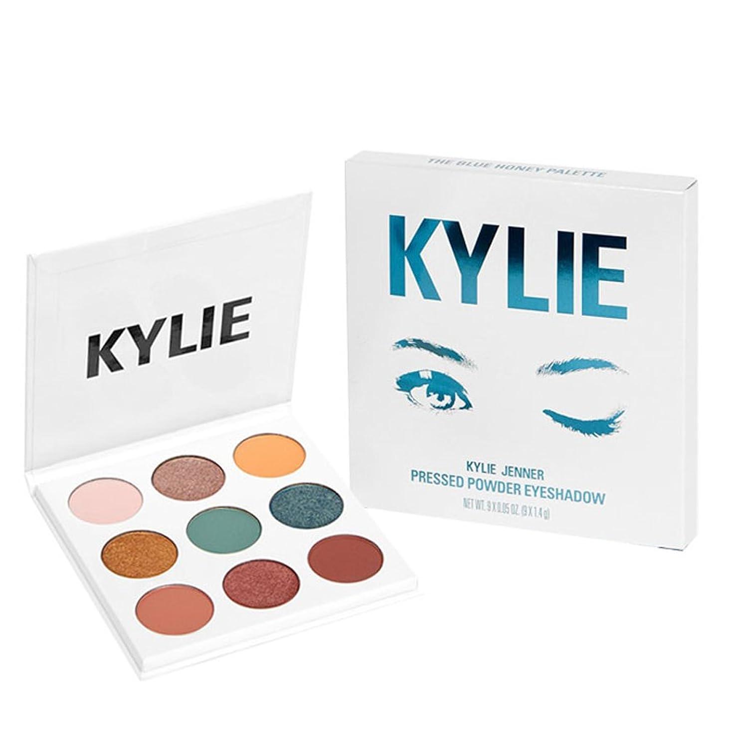観光宇宙の規制Kylie Cosmetics(カイリーコスメティック)THE BLUE HONEY PALETTE KYSHADOW 新作 9色アイシャドウパレット