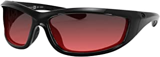 4003379 Charger Ansi Z87 Sunglass-Black Frame/Rose Lenses