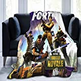 Game Fortnite Throw Blanket Ultra-Soft Micro Flannel Fleece Couch Quilted Blankets E 50' x 60'