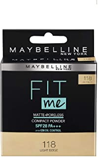 Maybelline Fit Me Compact, Light Beige, 8 g