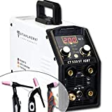 <span class='highlight'><span class='highlight'>STAHLWERK</span></span> CT550 ST - combined TIG/MMA welder with plasma cutter up to 12 mm cutting power, 200 Amp TIG/MMA   50 Amp CUT, 7-year warranty, white