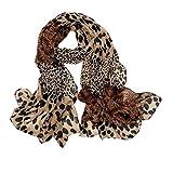 Mujeres Animales Impresión De La Moda De Pashmina Hombro Flecos Bufanda del Abrigo De La Bufanda del Estampado Leopardo De Shell Suave 1pc Extremo para La Temporada Completa