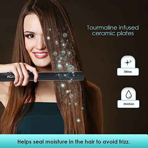 AGARO HS-2522 Hair Straightener (Black)