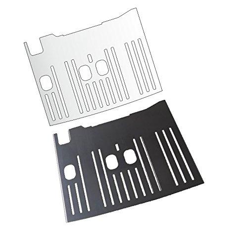 3 x Schutzfolie für DeLonghi Dinamica ECAM 350.15-350.35 - 358.15 Abtropfblech - Tassenablage - Abstellble